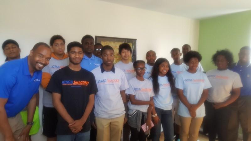 TechCORE2 2016 High School Internship First Day, July 11, 2016