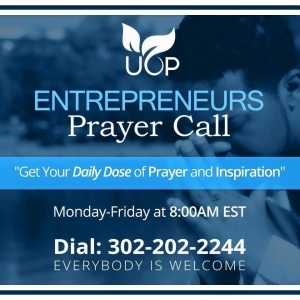 Entrepreneurs Prayer Call