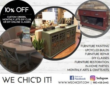 We Chic'd It! Breathing New Life into Your Everday Furniture